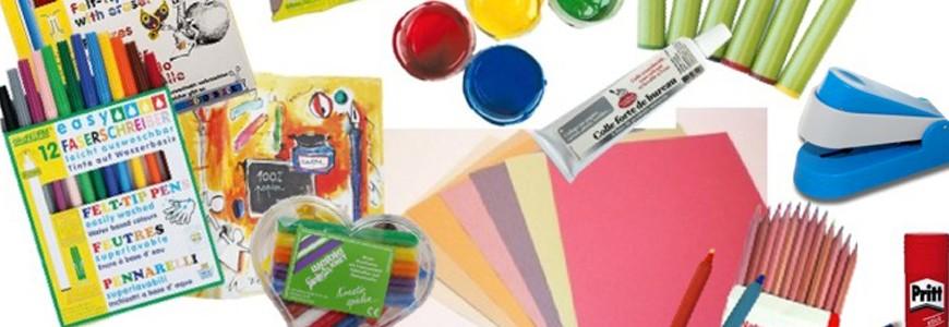Loisirs créatifs et fournitures scolaires