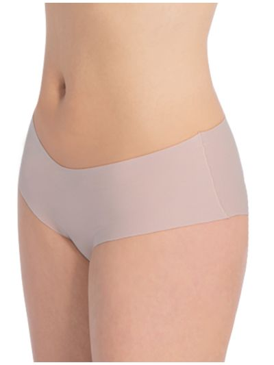 "Ligne ""INVISIBLE"" shorty-culotte coton bio Rose poudrée GOTS"