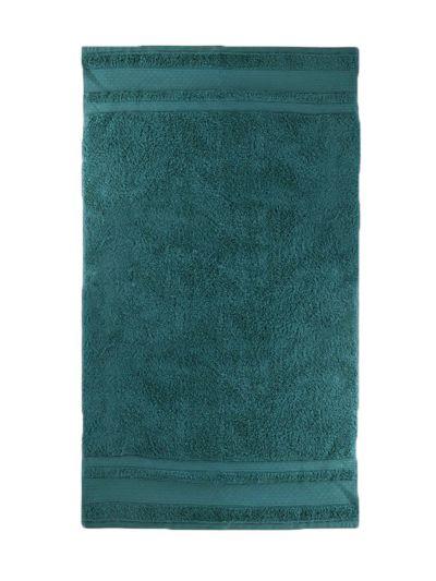 Serviette 100% coton bio 600 g/m2, 70X130 cm, abysse, fabriqué au Portugal, GOTS