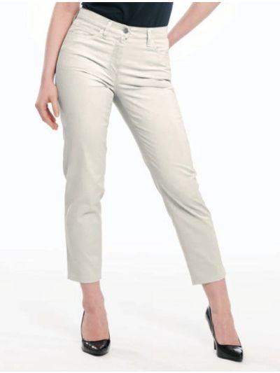Pantalon corsaire 32,33 coton bio femme Naturel