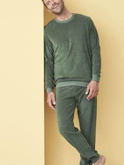 Pyjama éponge 100% coton bio, GOTS et VEGAN, homme, Myrthe