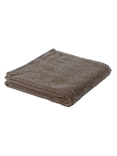 Serviette 100% coton bio 450 gm/m2, 100x50 cm Taupe clair