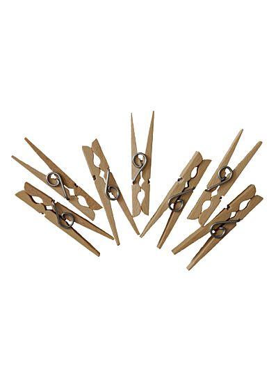 Pinces à linge bois X 30