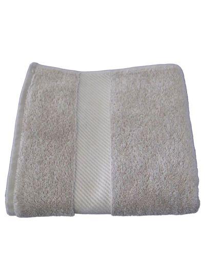 Serviette 100% coton bio 450 gm/m2, 140x70 cm Beige Mineral GOTS