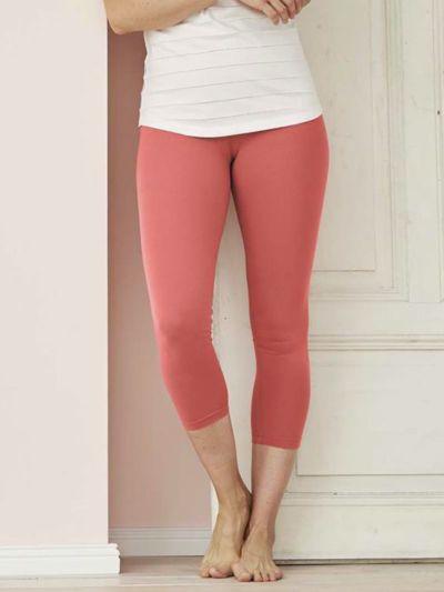 Legging coton bio 7/8 femme Blush GOTS