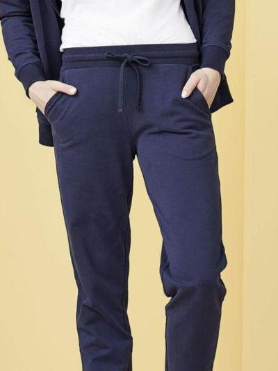 Pantalon de jogging 100 % coton bio Marine GOTS et VEGAN