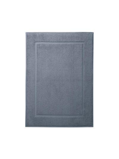 Tapis de bain 100% coton bio 50X70 cm Bleu minéral