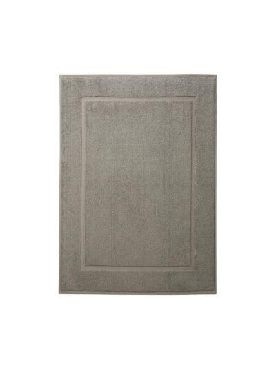Tapis de bain 100% coton bio 50X70 cm Taupe clair