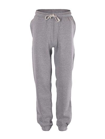 Pantalon 100% coton bio sport homme Gris, GOTS