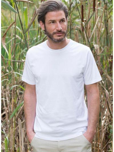 T-shirt 100% coton bio homme Blanc