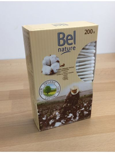 Coton tiges en coton biologique paquet de 200