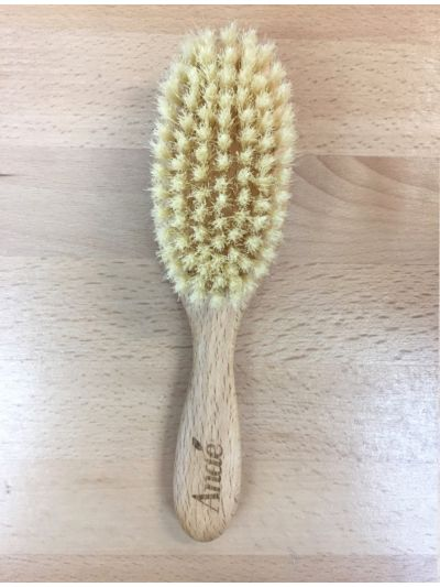 Brosse enfant en bois FSC et soie naturelle, 18 cm