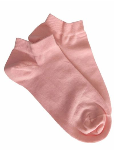 """Chaussettes coton bio du 35 au 46 """"courtes """"Rose Albero"""
