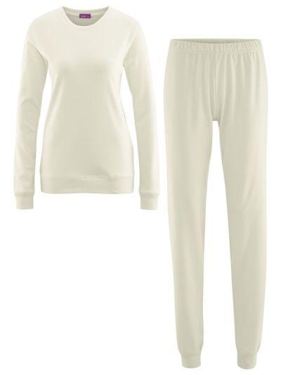 Pyjama 100% coton bio Femme caleçon Naturel