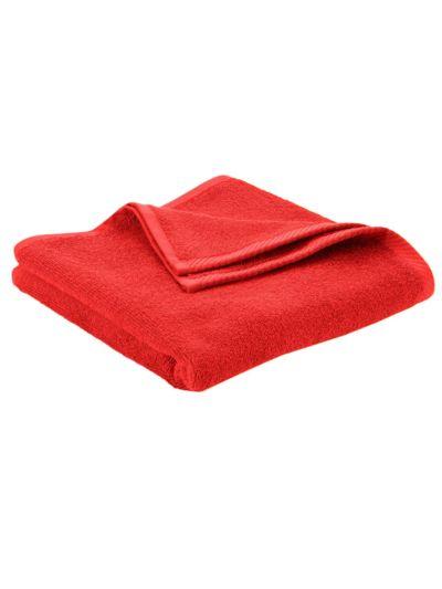 Serviette 100% coton bio GOTS, 450 gm/m2, 100x50 cm Terre rouge