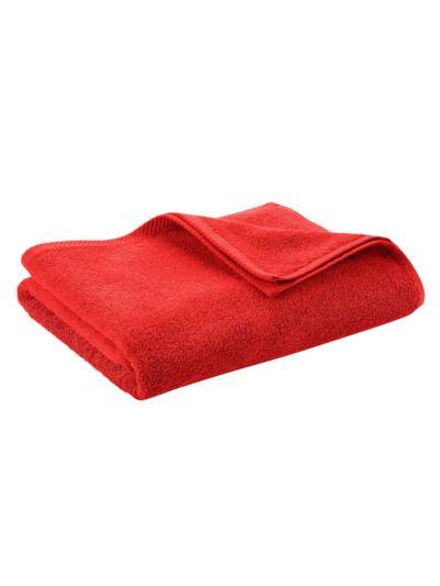 Serviette 100% coton bio GOTS 450 gm/m2, 140x70 cm Terre rouge
