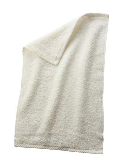 Serviette 100% coton bio GOTS 30X50 cm Naturel
