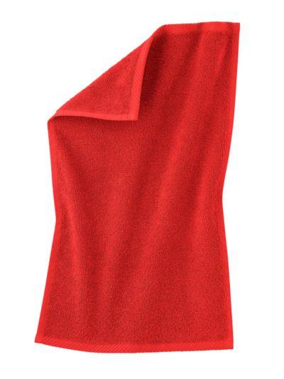Serviette 100% coton bio GOTS 30X50 cm Terre rouge