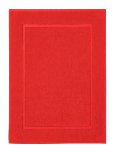 Tapis de bain 100% coton bio GOTS 50X70 cm Terre rouge