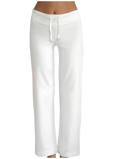 Pantalon coton bio sport femme Naturel GOTS
