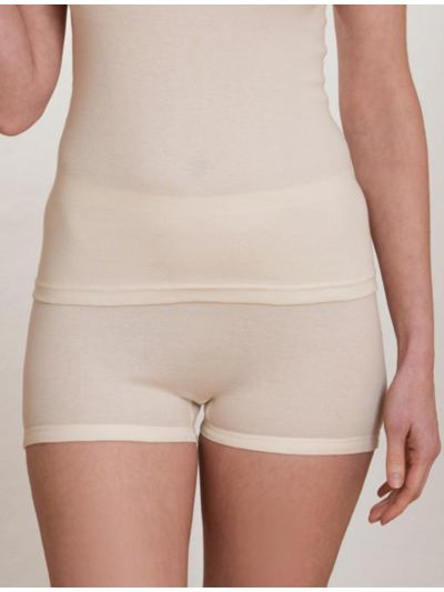 "Ligne ""CLASSIC"" shorty taille haute 100% coton bio naturel"