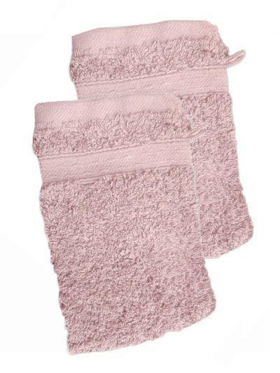 Lot de 2 gants 100% coton bio 600 gr/m2, peau de pierre fabriqué au Portugal, GOTS