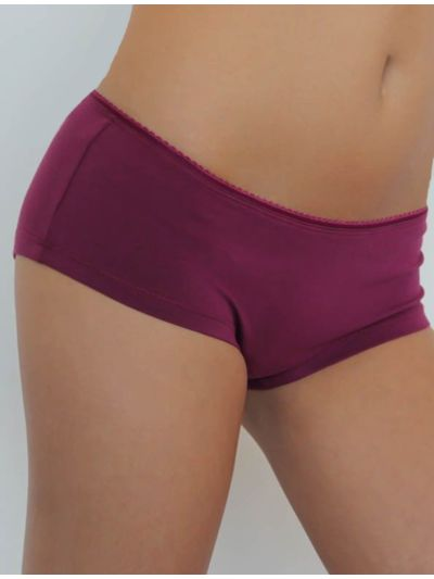 "Ligne ""LEELA"" shorty coton bio baies"