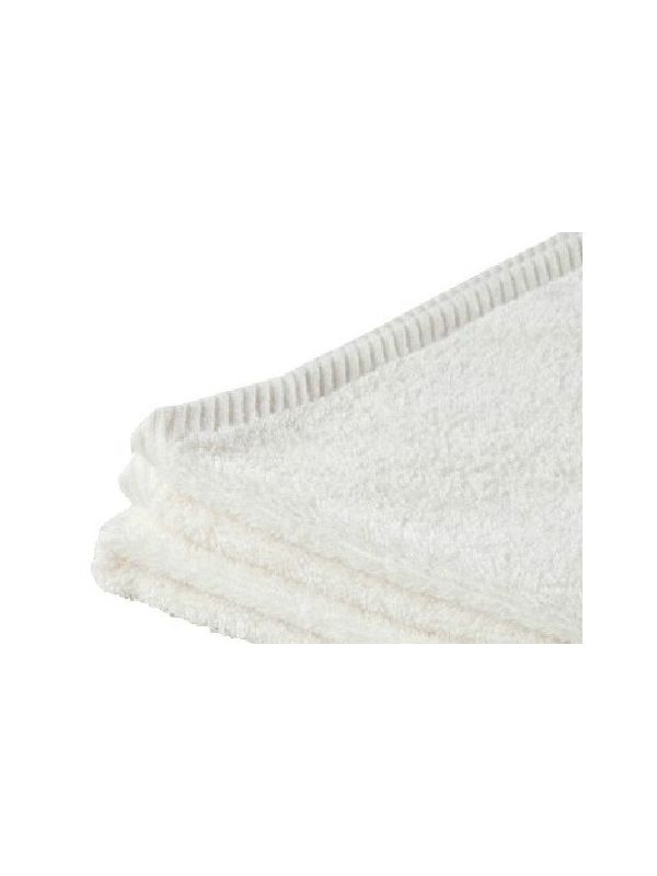Serviette de toilette coton bio 100X50 Naturel