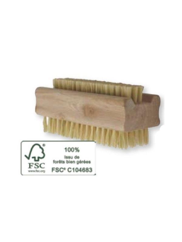 Brosse à ongle bois  FSC