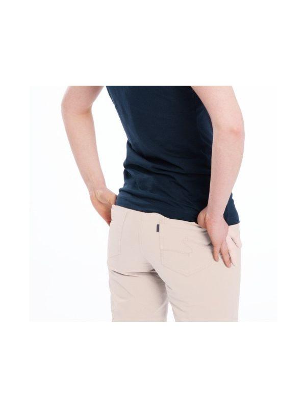 Pantalon corsaire coton bio femme Naturel