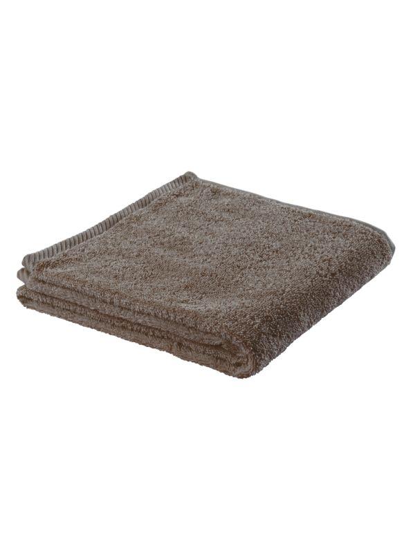 Serviette 100X50 cm coton bio  Taupe clair