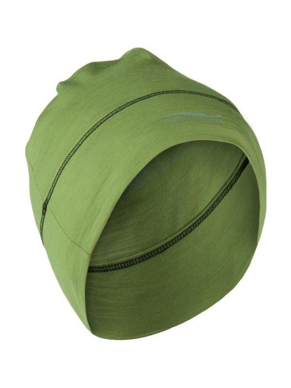 Bonnet laine et soie unisexe Lime