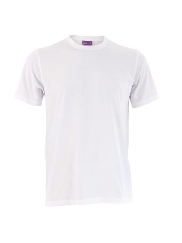 T-shirt coton bio homme Blanc