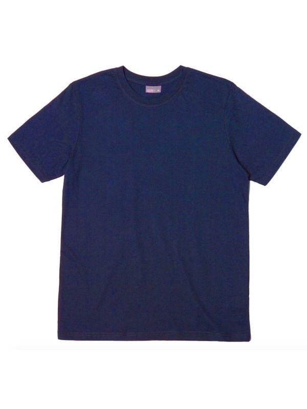 T-shirt coton bio homme Bleu Marine