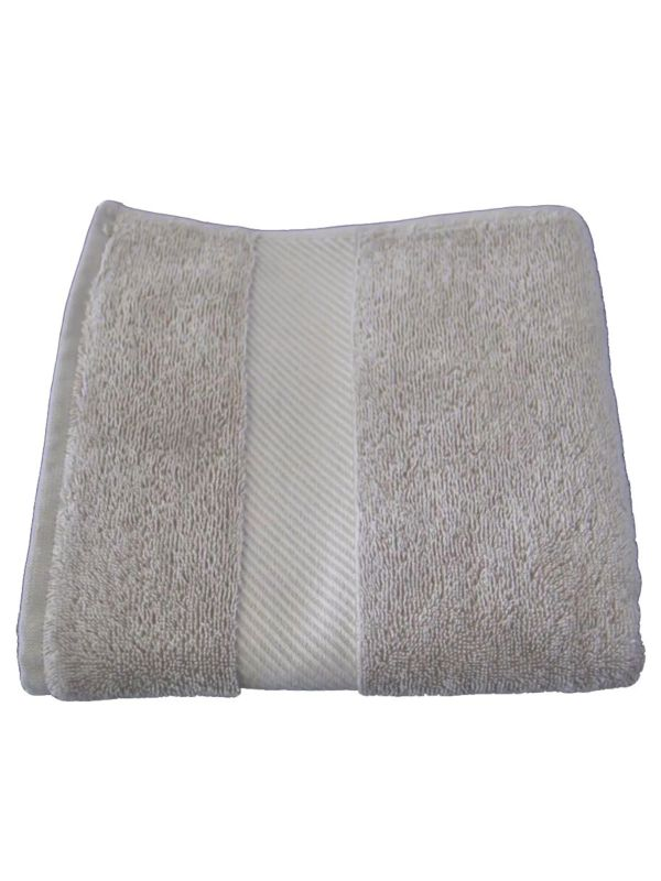 Serviette 140X70 cm coton bio Beige GOTS