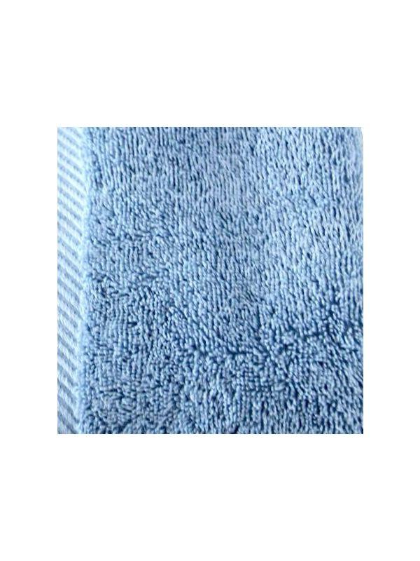 Serviette 30X30 cm coton bio Bleu denim GOTS
