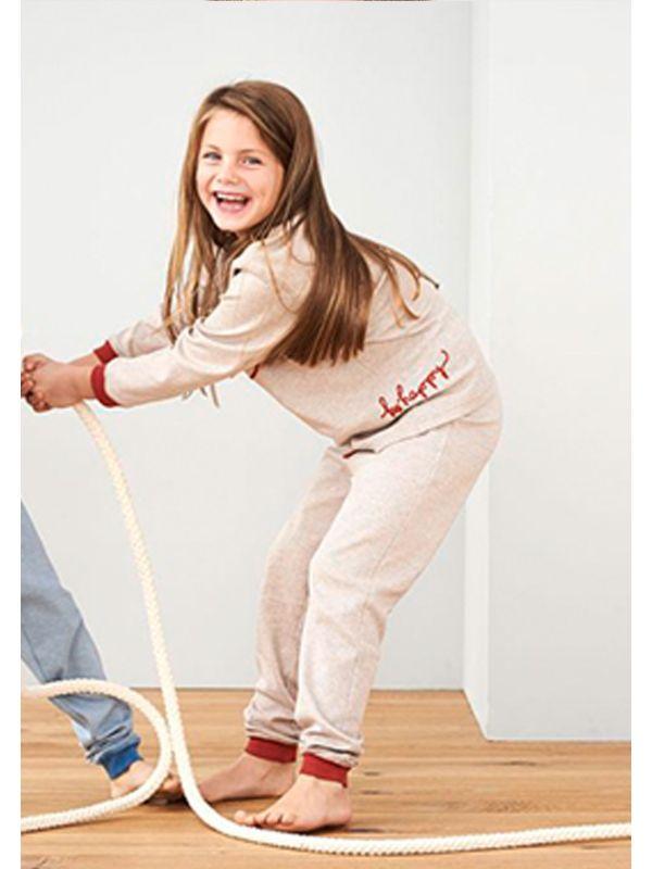 Pyjama 100% coton bio unisexe