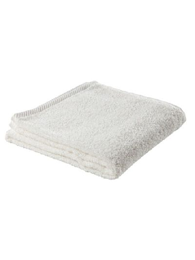 Serviette 100% coton bio 450 gm/m2, 100x50 cm Naturel