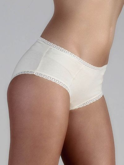 "Ligne ""CHLOE"" culotte-shorty coton bio Naturel"