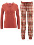Pyjama long 100% coton bio