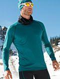 Homme T-Shirt laine et soie classique Hydro