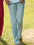 Pantalon de pyjama laine et soie Femme Bleu igloo